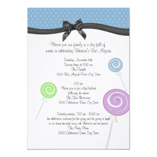 Lollipops and Polka Dots Events and Information Card