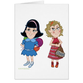 Lollipops & Potatoes Card