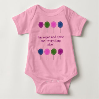 Lolly Pop Baby Onsie Baby Bodysuit