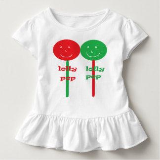 Lolly pop toddler ruffle dress