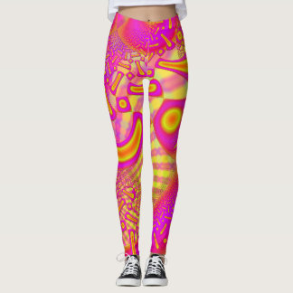 LollyPoP 3D Fused Glass Fractal Leggings