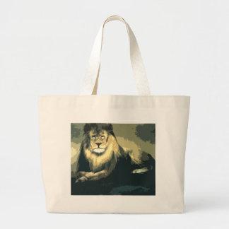lolo lion merchandise large tote bag
