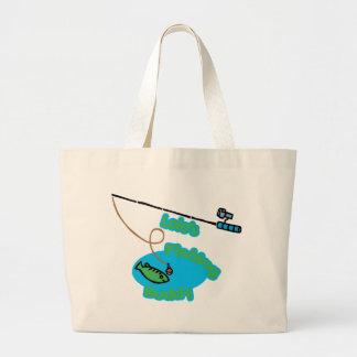 Lolo s Fishing Buddy Canvas Bag
