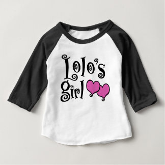 Lolo's Girl Baby T-Shirt
