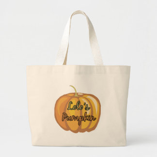 Lolo s Pumpkin Canvas Bags