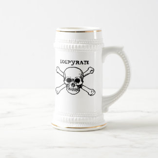 LOLPYRATE Tankard Beer Stein