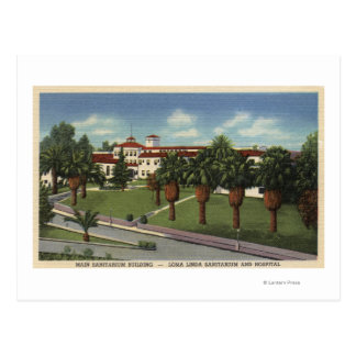 Loma Linda Sanitarium & Hospital View Postcard