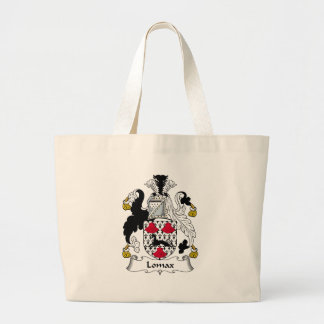 Lomax Family Crest Large Tote Bag