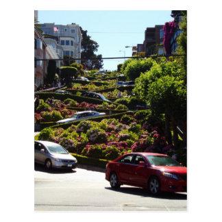 Lombard Street Postcard