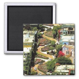 Lombard Street San Francisco CA Magnet