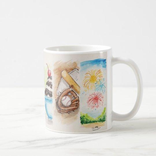 Lombard Summer Banners Mug
