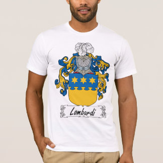 Lombardi Family Crest T-Shirt