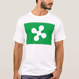 Lombardy (Italy) Flag T-Shirt
