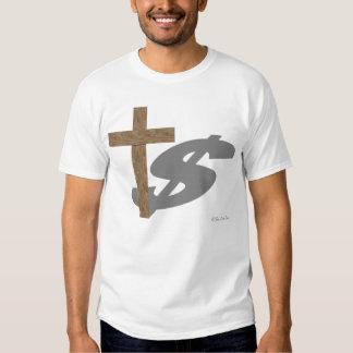 L'ombre de la religion tee-shirts