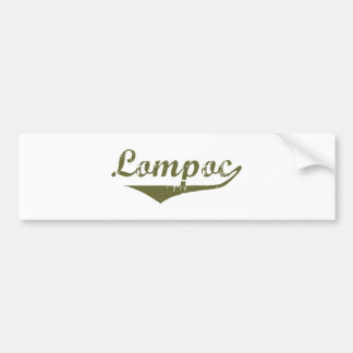 Lompoc  Revolution t shirts Bumper Sticker