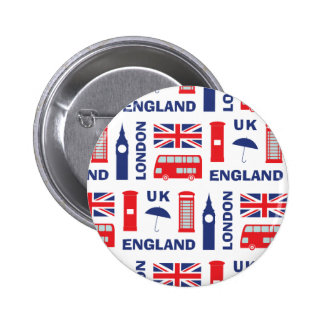 London 2 Inch Round Button