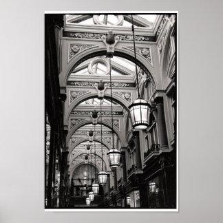 London Arcade Poster