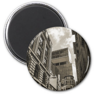 London architecture. 2 inch round magnet