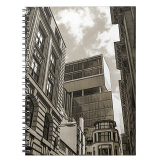 London architecture. notebook