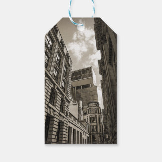 London architecture. pack of gift tags