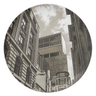 London architecture. plate