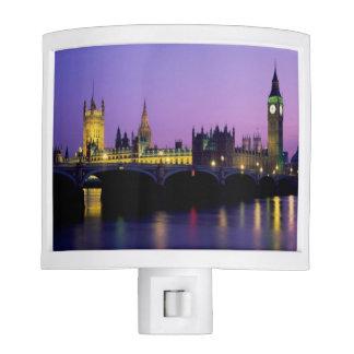 London at Dusk Night Lights