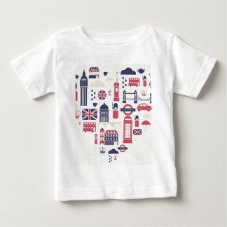 London at Heart Baby T-Shirt
