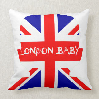 LONDON BABY THROW PILLOW
