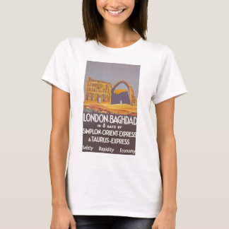 London Baghdad simplon orient express T-Shirt