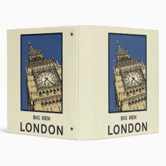 London Big Ben Binder