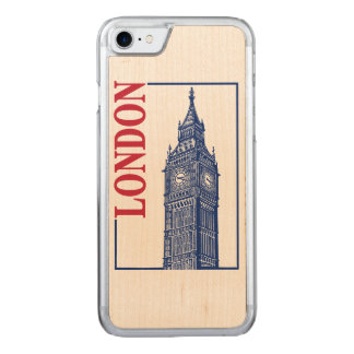 London-Big Ben Carved iPhone 8/7 Case