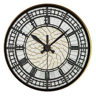 London Big Ben Clock Face