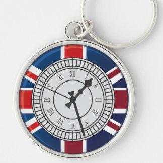 London Big Ben Clock Face  Keychain