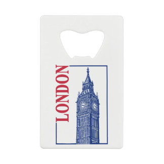 London-Big Ben Credit Card Bottle Opener