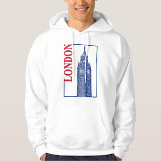 London-Big Ben Hoodie