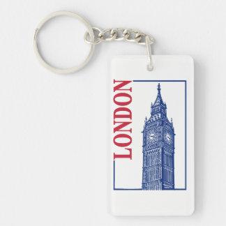 London-Big Ben Keychain
