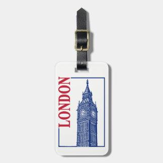 London-Big Ben Luggage Tag
