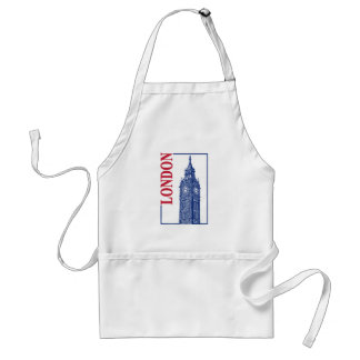 London-Big Ben Standard Apron