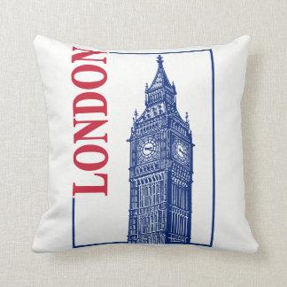 London-Big Ben Throw Pillow