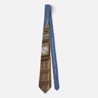 London Big Ben Tie