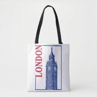 London-Big Ben Tote Bag