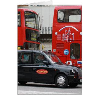 London Black Cab Taxi Card