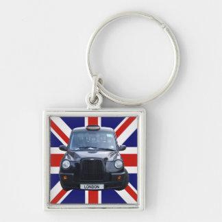 London Black Taxi Cab Key Chains