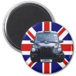 London Black Taxi Cab Magnet