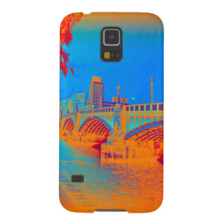 London Bridge Blue Galaxy S5 Covers
