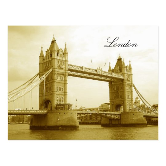 London Bridge, London Postcard