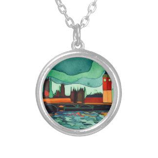 London Bridge Silver Plated Necklace