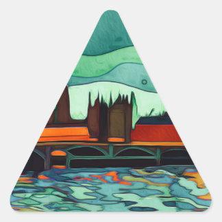 London Bridge Triangle Sticker