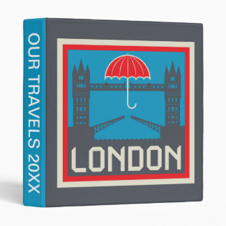 London Bridge with Umbrella Binder