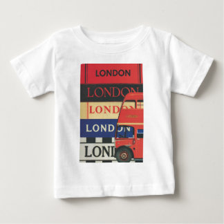 London bus baby T-Shirt
